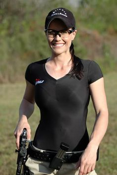 Shooter Jessie Duff...one of the top shooters in the world.  That's right gentlemen.