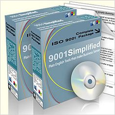 Complete Package - Complete ISO 9001 for Beginners  http://www.9001simplified.com/iso-9001-complete-package.php