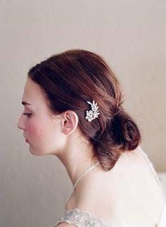 Rhinestone burst bobby pin - Style # 230 (twigs & honey) | Headpieces | Twigs & Honey ®, LLC