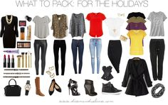 What To Pack: For The Holidays   Diamond Selina