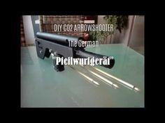 """DIY extrem powerfull co2 homemade arrow shooter - the german """"Pfeilwurfgerät"""" - YouTube"""