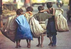 Sticking together even when your life has been turned upside down. Iranian Street Kids