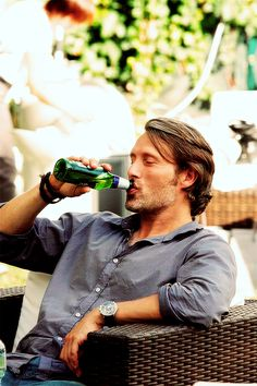 Mads Mikkelsen, there is just something about him. Maybe it's the European thing.
