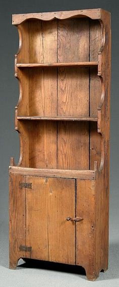 Country step cupboard,