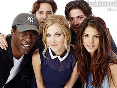 The cast of The 100, coming midseason to the CW!  IMAGE CREDIT: MICHAEL MULLER FOR EW -- Copyright © 2013 Entertainment Weekly Inc. All rights reserved.