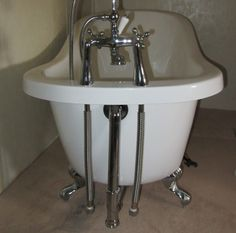 How to Install a Clawfoot Bathtub after the Plumbing Supply Guy Says There's No Way You Can Do It | Ghost32Writer