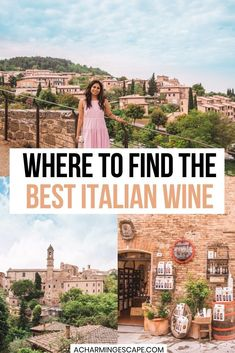 Where to Find the Best Italian Wine in Tuscany. Tuscany Wine Tasting Guide: When in Tuscany, you have to try the wines. Enjoy touring gorgeous wineries in this beautiful Italian regions and sample some of the best wines in the county. | Best wine tasting Tuscany, Italy | Tuscany wine tasting | Wine tasting in Chianti, Montalcino, Montepulciano | Brunello wine tasting | Visit Tuscany, Italy | Italy wine tasting | Best wine tasting in Italy | Italy travel |