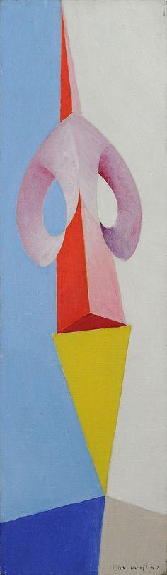 head-of-a-man, Max Ernst