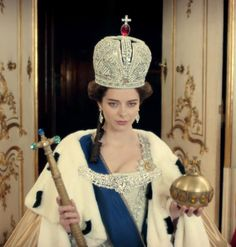 """Marina Aleksandrova As Catherine The Great In """"Ekaterina"""""""