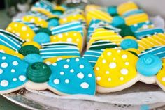 Bow Tie Themed Baby Shower Bow Tie Cookies