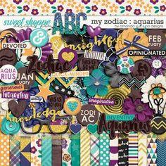 My Zodiac - Aquarius by Amanda Yi & Juno Designs