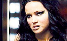 We can see more Jennifer than Katniss on this epic face