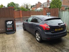 2014 Ford Focus in this afternoon for 18% Carbon tints to the rear.