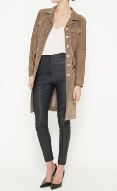 Prada Brown Jacket | VAUNTE