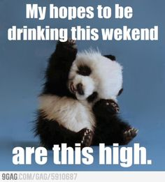 High hopes on weekend