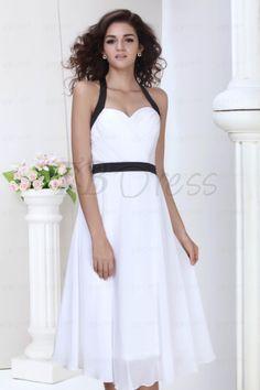 $ 94.99 Wonderful A-line Straps Ribbons/Sashes Short Bridesmaid Dress