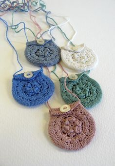 For everyday wear or the odd festival or two.. .  Knit Or Crochet a knit or crochet necklace in under 180 minutes by crocheting with buttons, crochet hook, and cotton thread. Creation posted by SteffiGlaves.  in the Yarncraft section Difficulty: 3/5. Cost: Cheap.
