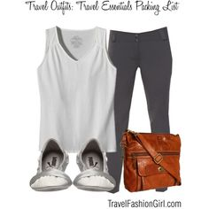 10 Piece Travel Essentials Packing List Travel Outfit Ideas #travel #fashion #minimalist #packinglist
