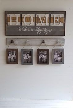 Cool rustic home sign  #rustic #rustichome #rustichomedecor   http://www.islandcowgirl.com/