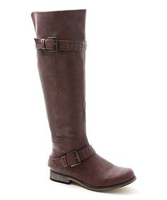 Look at this XOXO Tan Brianna Boot on #zulily today!