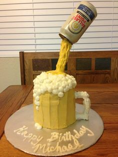 Beer cake by Luneta