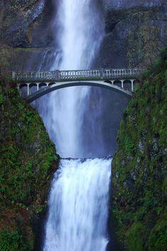 Bridge by Multnomah Falls, Oregon