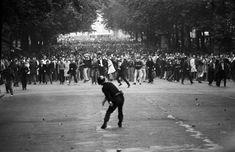 MAY PROTESTS 1968, PARIS, BY GÖKSIN SIPAHIOGLU