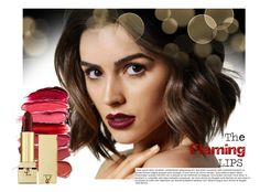 """""""Red lipstick"""" by joliedy ❤ liked on Polyvore featuring beauty"""