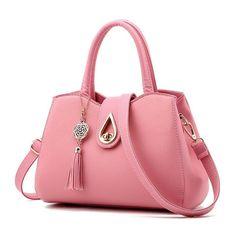 50a4c402d66a Fashion Women s Tote PU Leather Handbag Ladies Bags