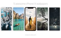 """Check out my @Behance project: """"5 Awesome iPhone X Summer Wallpapers"""" https://www.behance.net/gallery/66668185/5-Awesome-iPhone-X-Summer-Wallpapers"""