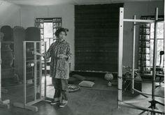 Alice Kagawa Parrott | fiber artist: spinner + dyer + weaver | b. 1929 Honolulu, Hawaii | attended University of Hawaii & Cranbrook Academy of Art, Michigan | 1956 opened craft store in Santa Fe | d. 2009 Santa Fe, New Mexico, U.S.A.