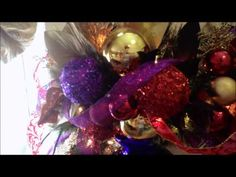Christmas Holiday Mantel and Fireplace Decoration, N 4 Events - Fireplace Christmas Decorating Ideas, How to Decorate Your Mantel for Christmas, Christmas Fireplace Decoration Design Ideas, Holiday Mantels http://youtu.be/17tOdHB9Aw8