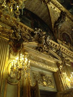 Details of one of the door frames in the napoleon apartments, the louvre Paris France