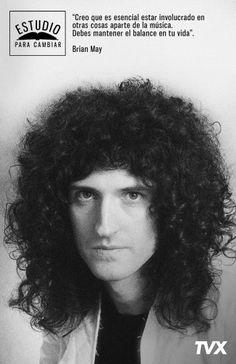 Brian May: guitarrista y compositor de la legendaria banda Queen y Doctor en Astrofísica del Imperial College y rector honorífico de la Universidad John Moores, #EstudioParaCambiar.