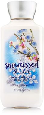 Snowkissed Sugar Body Lotion - Signature Collection - Bath & Body Works