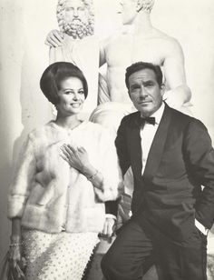 Claudia Cardinale and Ugo Tognazzi