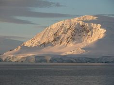 Antarctica - sunset