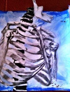 Art of Anatomy 2013 Skeleton Drawings, Art School, Anatomy, Inspired, Artwork, People, Room, Inspiration, Painting