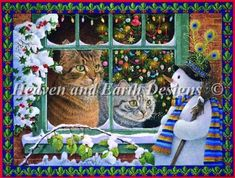 Megatab Mintaka and The Snowman [IVORY4152] - $14.25 : Heaven And Earth Designs, cross stitch, cross stitch patterns, counted cross stitch, christmas stockings, counted cross stitch chart, counted cross stitch designs, cross stitching, patterns, cross stitch art, cross stitch books, how to cross stitch, cross stitch needlework, cross stitch websites, cross stitch crafts