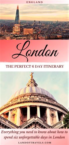 London In 6 Days: The Perfect Itinerary For A Memorable Trip – Best Europe Destinations Backpacking Europe, Europe Travel Guide, Travel Guides, Travel Abroad, Europe Destinations, Tower Of London, London City, England Uk, London England