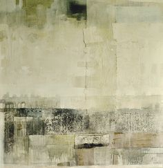 Daylight Konstantin Inal-Ipa oil, canvas, collage, acrylic size: 145х140 2011 year