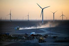 The Jiuquan Wind Power Base epitomizes the country's ambition to become a global leader in clean energy. It also reflects the deep challenges facing the sector in China. Parts Of The Earth, Thermal Energy, Energy Industry, Energy Use, Sustainable Energy, Wind Power, Alternative Energy, Renewable Energy, Ny Times