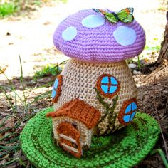 Crochet fairy house Crochet For Free