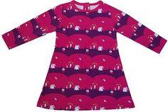 Free pattern: Little girl's long-sleeved A-line dress