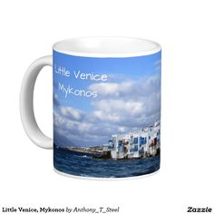 Little Venice, Mykonos, on a tea / coffee mug.
