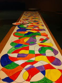 Engage Worship - Worship Ideas - Images of the Holy Spirit    Click the link! Different images of Holy Spirit given different colors, congregation chooses what image they connect with and paint that color.