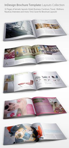 1000 images about magazine and brochure layout for Furniture brochure design inspiration