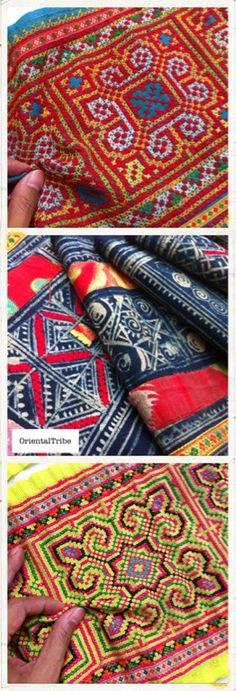 Retro ethnic textile. Ebay.com