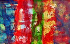 Encaustic Art by Karen Ross www.ArtForCoffeesSake.blogspot.com