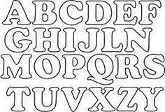 Resultado de imagen para letras bonitas para imprimir y recortar grandes